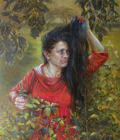 Oil painting, 80x70cm, 2013 r.