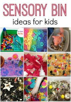 Sensory Bin Ideas For Kids
