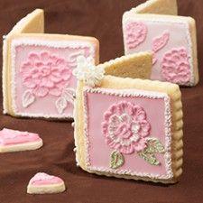 Romantic Sugar Cookie Card