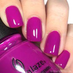 Create bright and beautiful nail art with this purple creme nail polish. : Create bright and beautiful nail art with this purple creme nail polish. Short Nail Designs, Colorful Nail Designs, Colorful Nails, Nail Polish Designs, Nail Polish Colors, Purple Nail Polish, Gorgeous Nails, Pretty Nails, Wedding Nail Polish