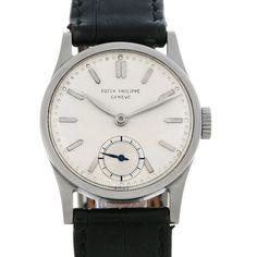 Patek Philippe Calatrava Vintage Stainless Steel Watch ref 96