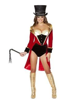 Adult Naughty Ringleader Women Costume | $132.99 | The Costume Land