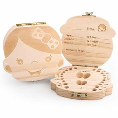 Is it already time to say goodbye to baby teeth? Get this Wood Tooth Box and be prepared ❤ Only $29.99 + FREE Shipping GET IT HERE >> https://www.familyfervor.com/collections/baby-toddler/products/tooth-box-organizer