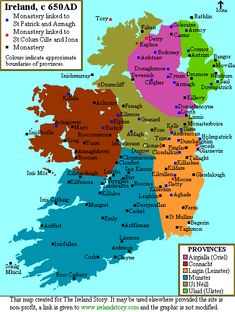 Map of Ancient Ireland Irish Warrior, Ireland Map, Irish Roots, Historical Maps, Irish Blessing, Irish Celtic, Republic Of Ireland, Northern Ireland, Northern Irish
