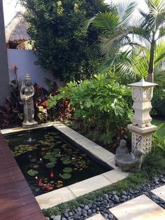 Beautiful Small Backyard Gardening Ideas With Indian Style - lmolnar . Beautiful Small Backyard Gardening Ideas With Indian Style – lmolnar Backyard garden i Balinese Garden, Bali Garden, Indian Garden, Pergola Garden, Terrace Garden, Backyard Landscaping, Landscaping Design, Balinese Decor, Backyard Designs