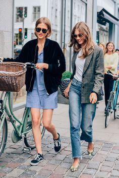 denim fashion girls