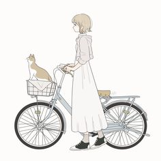 Ideas For Cats Art Illustration Style Kawaii Anime, Anime Cat, Cute Cartoon Wallpapers, Animes Wallpapers, Art And Illustration, Illustrations, Anime Art Girl, Manga Art, Character Art