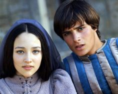 ROMEO AND JULIET, from director Franco Zeffirelli, starring Olivia Hussey and Leonard Whiting.