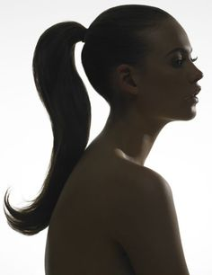i love ponytails
