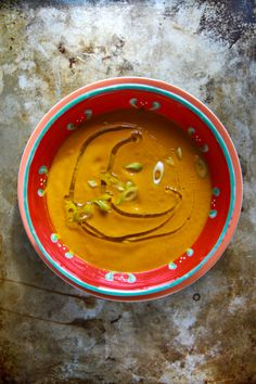 Creamy Curry Carrot Soup - I added extra curry powder, red curry paste, and grated fresh ginger - so good!