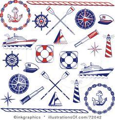 Free Nautical Clip Art   Illustrations & Cliparts - Nautical Fun ...