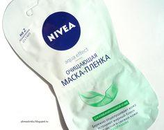 Alenka's beauty: Nivea aqua effect. Очищающая маска-пленка для комб...