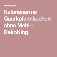Kalorienarme Quarkpfannkuchen ohne Mehl - DekoKing