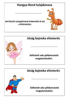 értékelés4 Primary School, Pre School, Back To School, Charts For Kids, Classroom Rules, Learning Numbers, Positive Reinforcement, Teaching Tips, Classroom Management