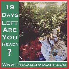 ✨🎁The holidays are sneaking up on us...Are you ready?  We are @thecamerascarf ❤️🎁🎄📸 📽️Watch our YouTube video at: https://youtu.be/KnWdENfHIks ✨www.thecamerascarf.com ✨   #camerascarf #thecamerascarf #camerastrap #camerastraps #newcamera #photography