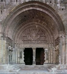 South Portal and Porch, showing Christ in Majesty, Priory Church of Saint-Pierre, Moissac. France, c. 1115.