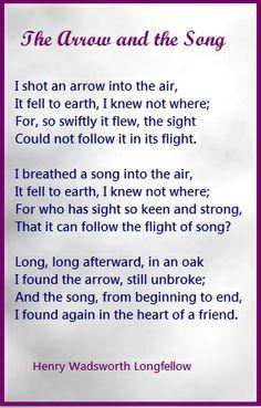 A Henry Wadsworth Longfellow Poem. | Inspiration/Motivation ...