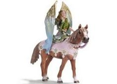 Surah Fairy With Horse from Schleich #fairies