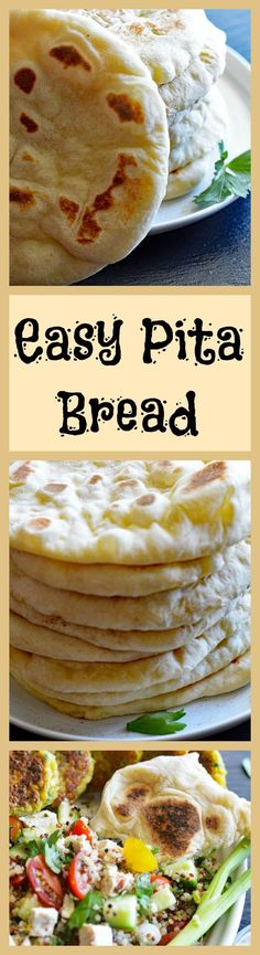 Easy Vegan Pita Bread