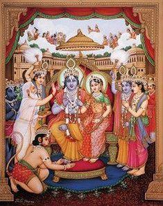 Sri Sathya Sai tells little-known stories from the Ramayana Mysore Painting, Tanjore Painting, Shri Hanuman, Shree Krishna, Radhe Krishna, Rama Photos, Shree Ram Images, Rama Lord, Lord Rama Images