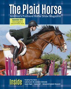 September 2014- The Education Issue. Sophia Mossman and Zola.The Plaid Horse theplaidhorse.com