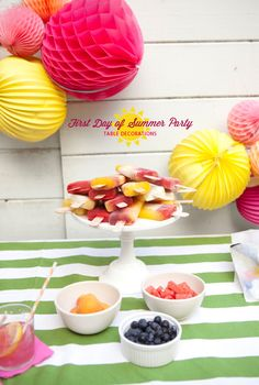 First Day of Summer Party | Oh Happy Day!