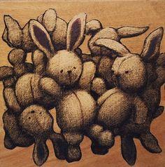 Bunnies.. bunnies everywhere! art