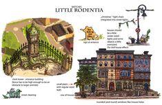 Concept Arts de Matthias Lechner para o filme Zootopia (post#1) | THECAB - The Concept Art Blog