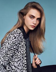 Кара Делевинь — Фотосессия для «Vogue» UK 2014