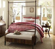 Antonia Canopy Bed | Pottery Barn