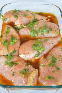 Easy Chicken Fajita Marinade on MyRecipeMagic.com