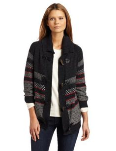 Splendid Women's Stripe Fairisle Cardign, Charcoal, X-Small Splendid. $75.29. Dry Clean Only. Made in China. cardigan sweater. 60% Cotton/35% Nylon/5% Angora. tab button; fair isle print