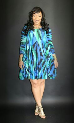 Beautifully crafted clothing featuring custom fabrics, vibrant colors and bold designs that will be amazing for any occasion! Plus Size Beauty, Custom Fabric, Vibrant Colors, Dresses With Sleeves, Long Sleeve, Clothes, Design, Fashion, Outfits