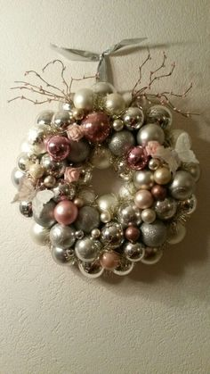 My own made wreath