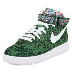 new style 4c907 484e9 Nike Mens Lunar Force 1 Mid JCRD SP Jacquard Pine GreenWhite Fabric Running  Cross Trainers Size 13     For more information, visit image link.