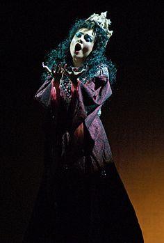 Julia Kogan: coloratura soprano - Queen of the Night in Indianapolis Opera's 2007 production of Mozart's The Magic Flute