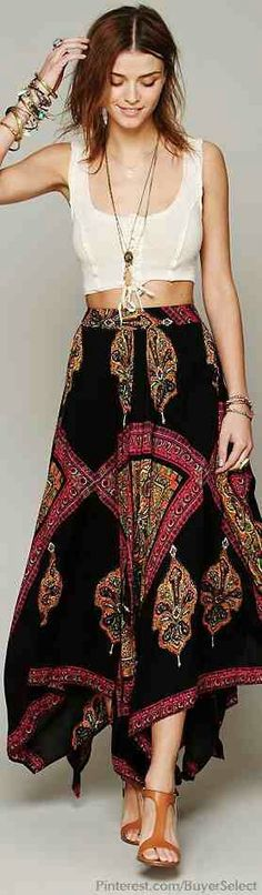 Boho beauty - skirt