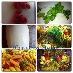 Margarita Stewart: Caprese Pasta Salad & an Easy Homemade Balsamic Vi...