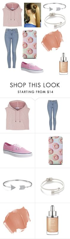 """""""Untitled #331"""" by juneisbest ❤ liked on Polyvore featuring adidas, Topshop, Vans, Bling Jewelry, Rebecca Minkoff and Christian Dior"""