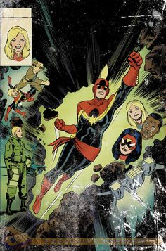 Captain Marvel by David Lopez