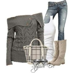 Need this now! #TheLuckyCowgirlFall #sweaters