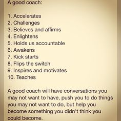 A good coach: The best #athletes, #entrepreneurs, most #successful have a #coach or #mentor - find urs w/ JoshFelber.com