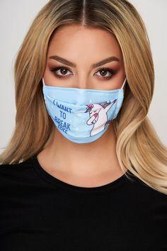 Masca de protectie albastru deschis StarShinerS Carnival, Face, Carnavals, The Face, Faces, Facial