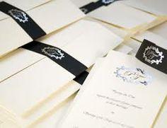 monochrome #wedding invites www.lily-marie.co.uk