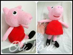 #OliMori #crochet #crocheting #crochetpeppa #amigurumi #amigurumitoday #Peppa #peppapig #HimalayaDolphinBaby #szydełko #szydełkowanie…