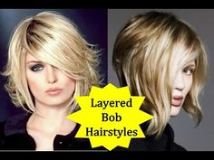 20 Beautiful Layered Bob Hairstyles - How to Style Layered Bob with Shor...