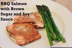 BBQ Salmon with Brown Sugar and Soy Sauce - Mavis Butterfield @ One Hundred Dollars a Month