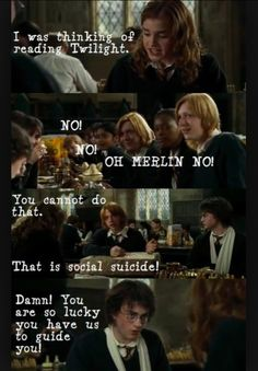 Mean girls Harry potter win