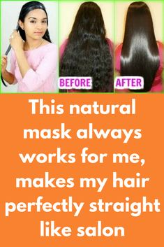 This natural mask always works for me, makes my hair perfectly straight like salon You'll need 1 glass milk 1 glass Coconut milk 2 spoon aloe vera gel 1 spoon castor oil 1 spoon corn flour Put milk in a pan and turn on the flame When it starts to boil, add 1 spoon corn flour ad mix it well Make sure there is no lump, when it starts …