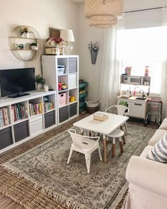 "Kendra Leigh on Instagram: ""Playroom finished 🙌🏼 Now onto the office 💃🏻 Get ready @cgnyg (he can't stand organizing 😂)! . . In case you don't know what I'm talking…"""